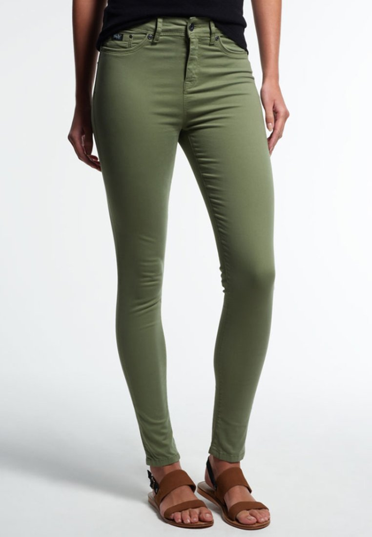 Superdry - SOPHIA - Slim fit jeans - khaki