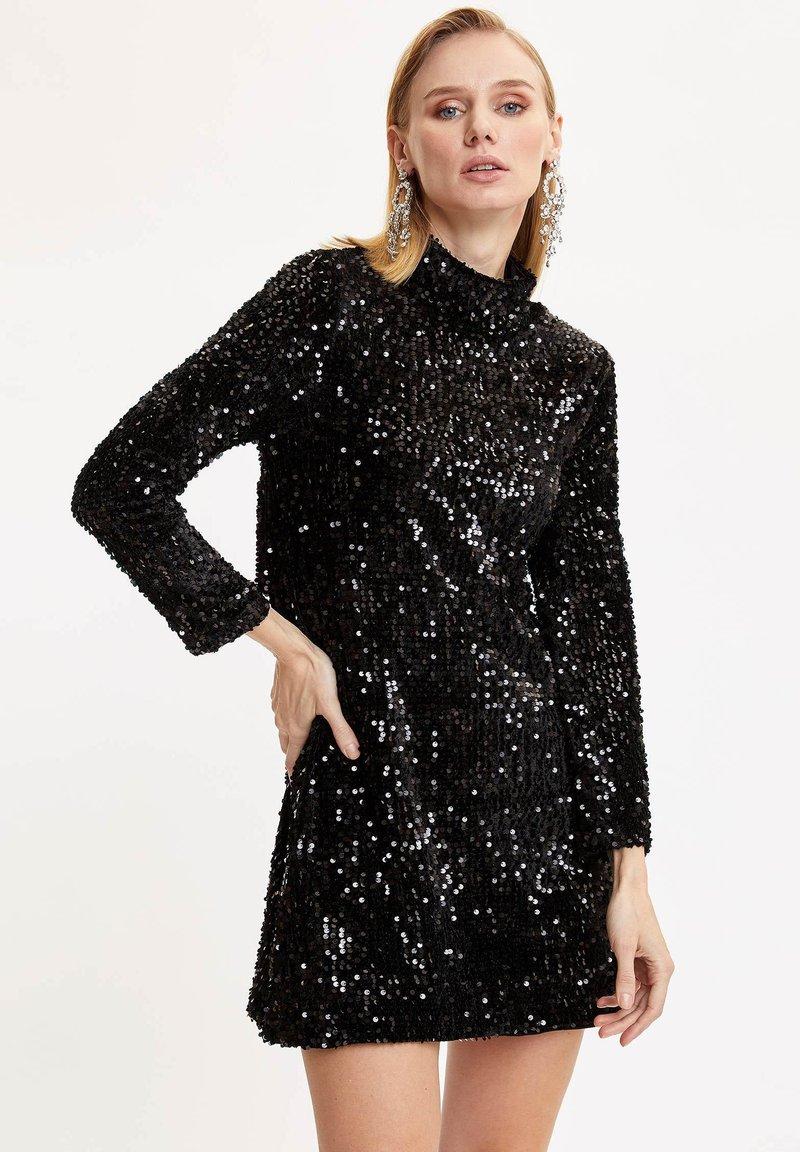 DeFacto - Vestido de cóctel - black