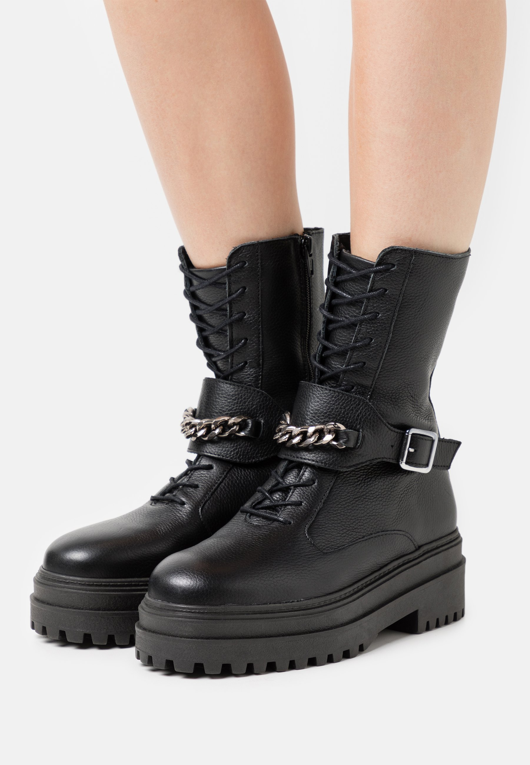 Women Lace-up ankle boots