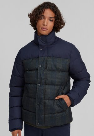 Winterjas - blue print