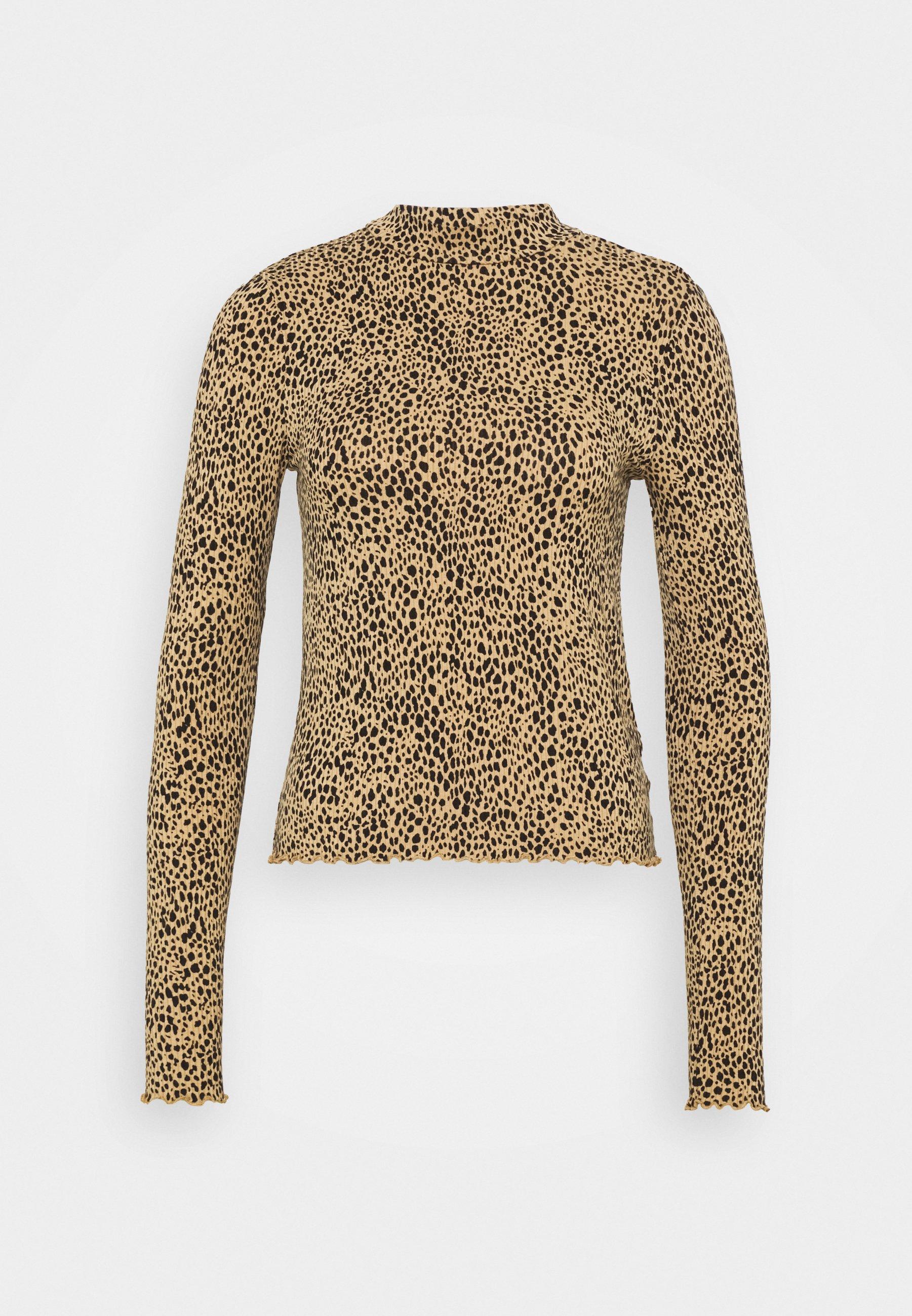 Women MOCK NECK TEE - Long sleeved top