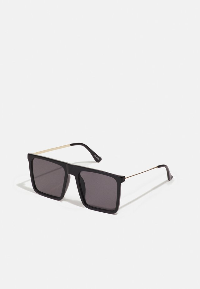 ETAETHIEN - Sunglasses - black/gold-coloured/smoke