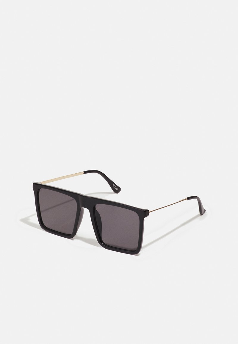 ALDO - ETAETHIEN - Sunglasses - black/gold-coloured/smoke