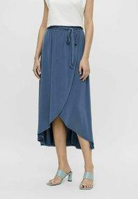 Object - OBJANNIE NOOS - Wrap skirt - ensign blue - 0