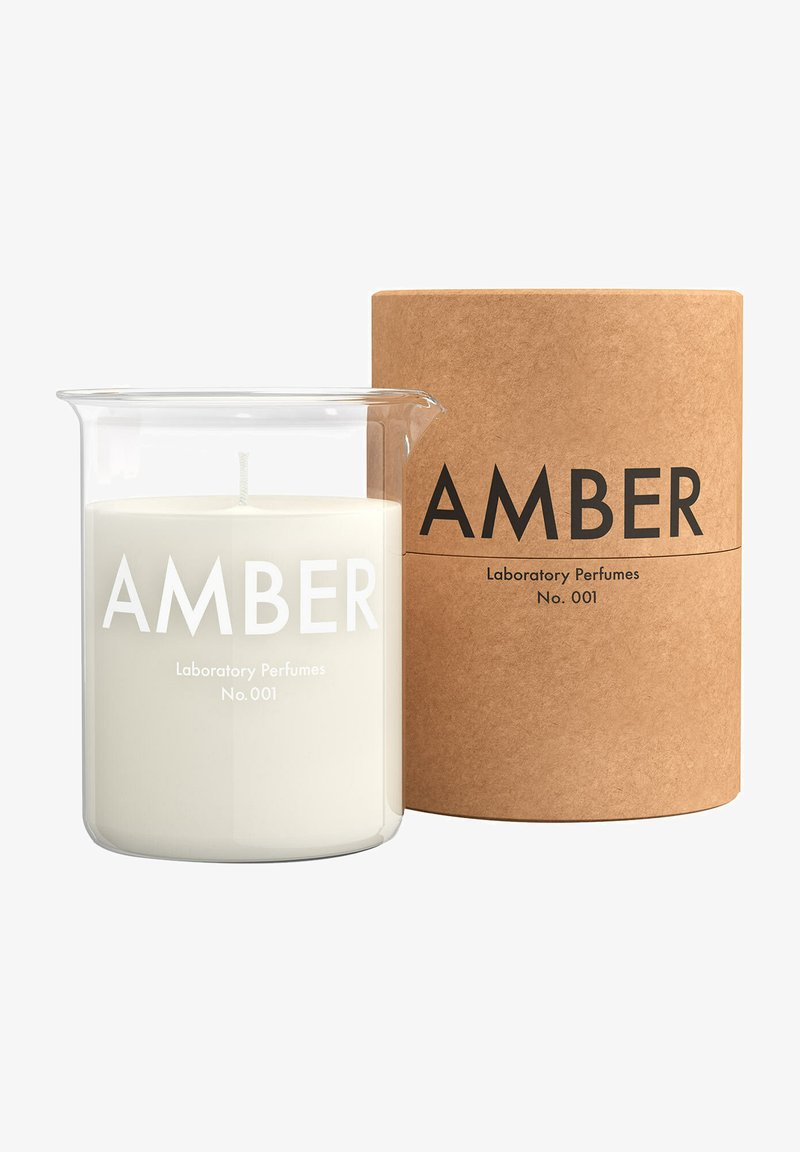 Laboratory Perfumes - LABORATORY PERFUMES KERZE AMBER CANDLE - Scented candle - -