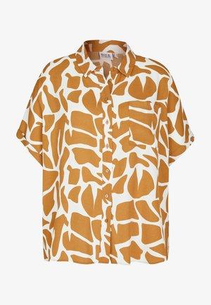 IM RESORT-STYLE - Button-down blouse - hellbraun