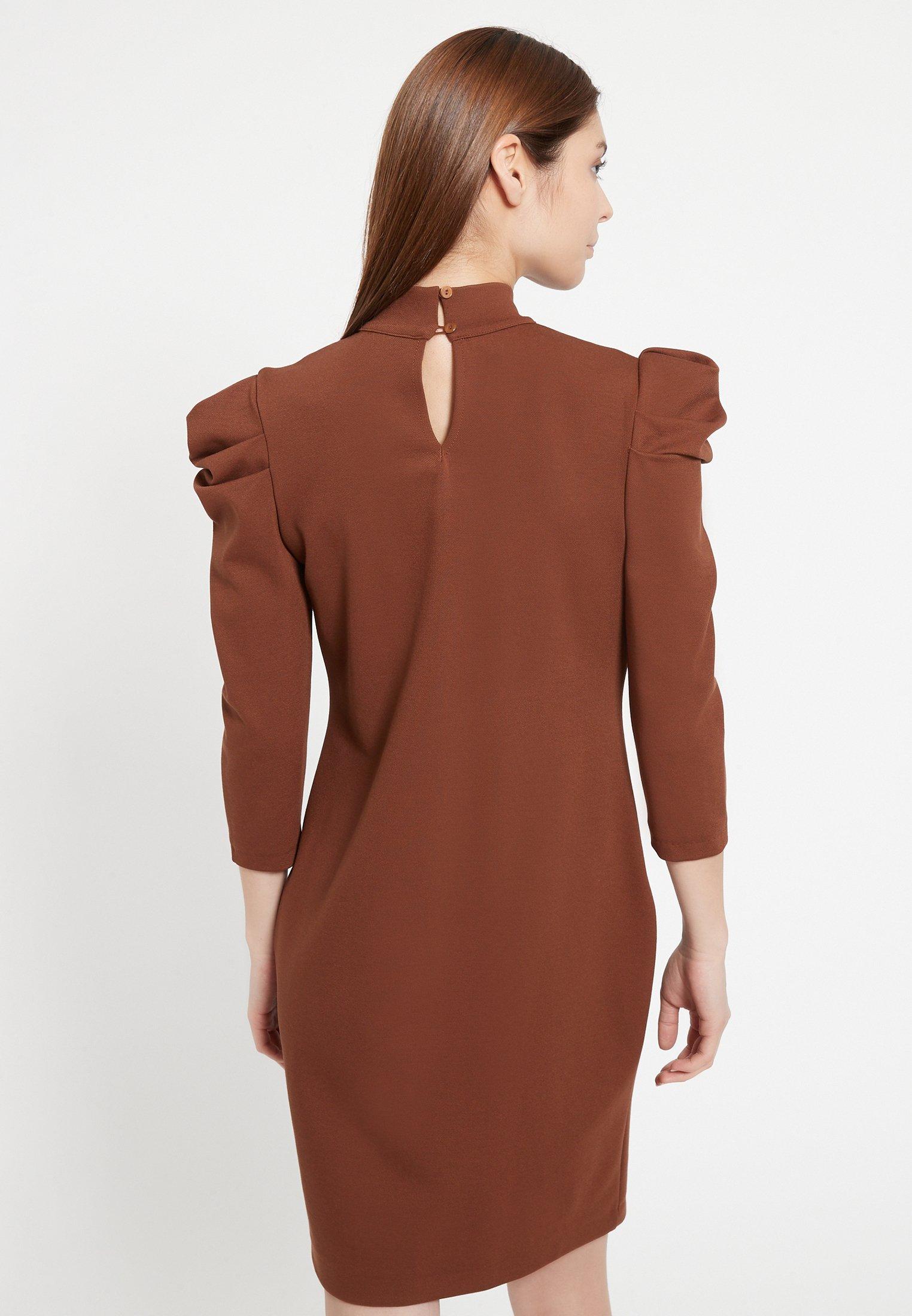 Ana Alcazar Cocktailkleid/festliches Kleid braun
