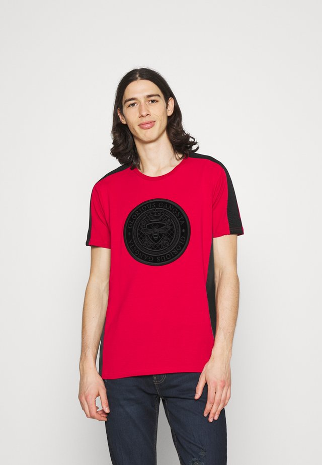 DONAEO TEE - T-shirt con stampa - red