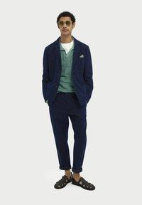 Scotch & Soda - Blazer jacket - indigo - 3