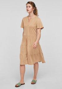 s.Oliver - Day dress - beige - 3