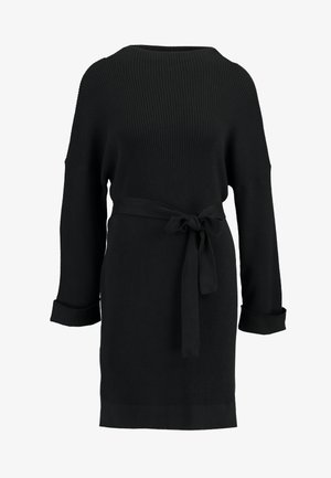 NATA DRESS - Jumper dress - schwarz