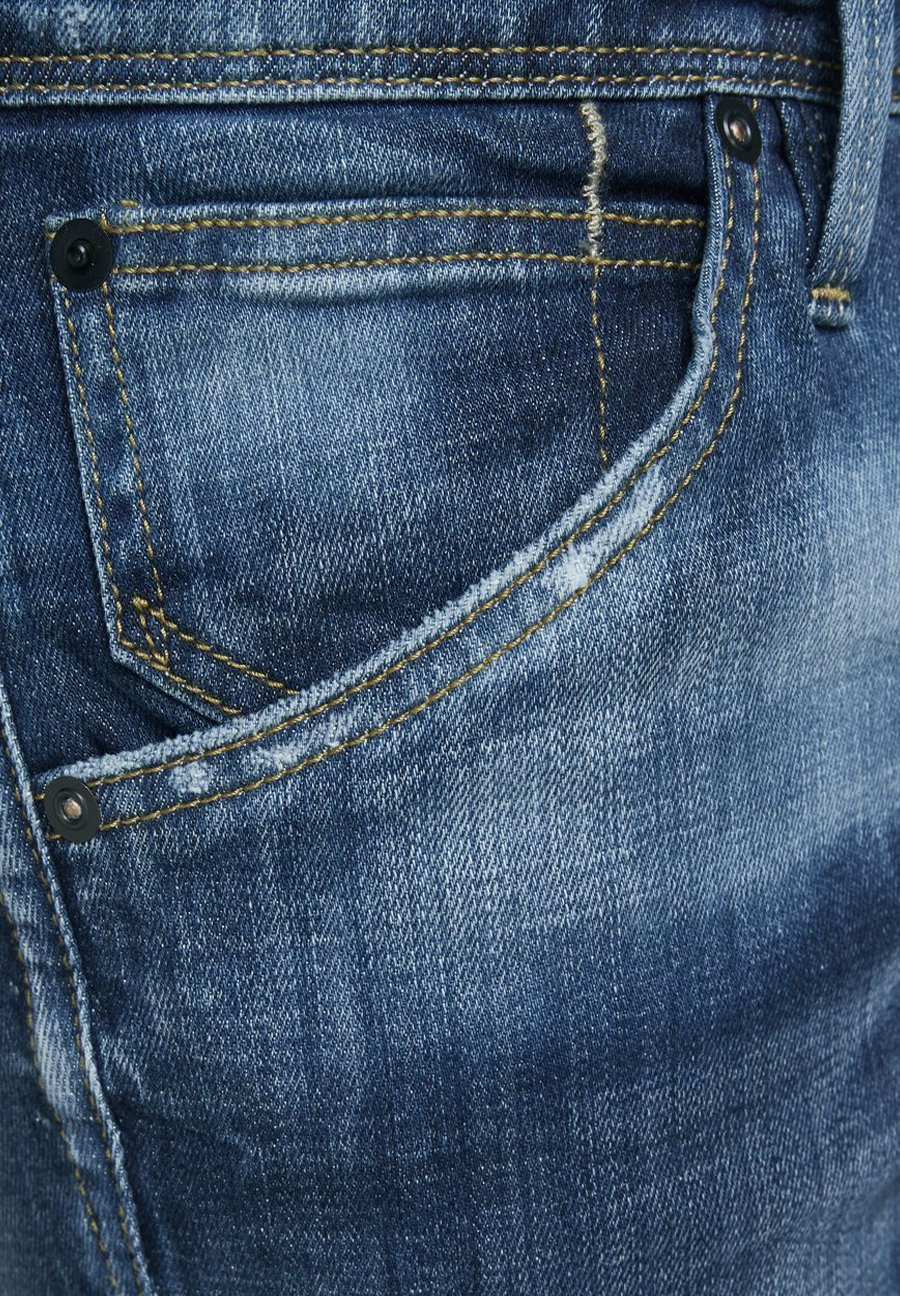 Uomo SLIM FIT JEANS GLENN FOX BL 925 - Jeans slim fit