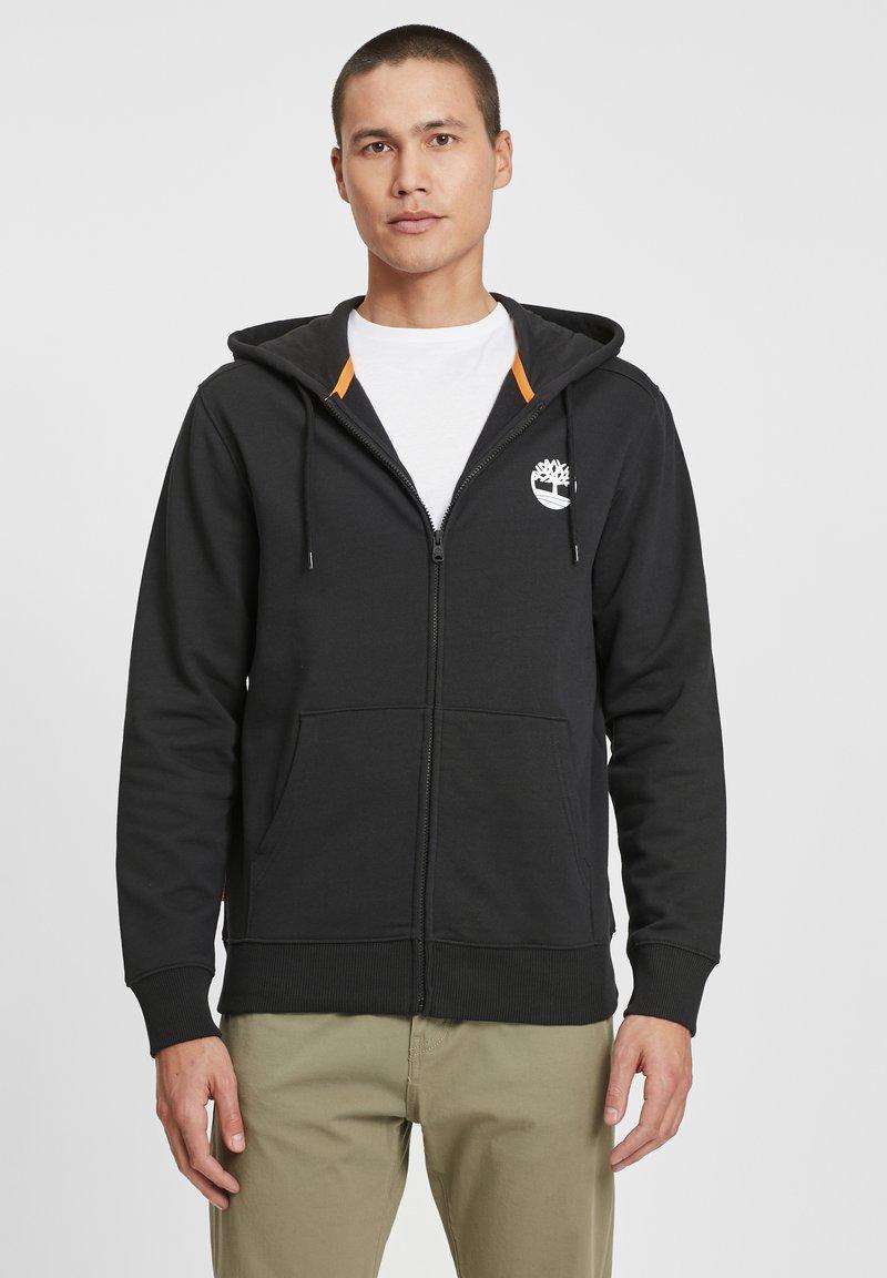 Timberland - Sweatshirt - black/white