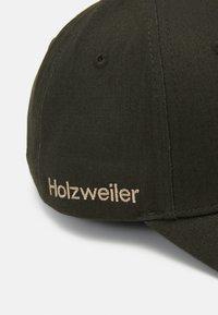 Holzweiler - SIRUS UNISEX - Kšiltovka - army - 4