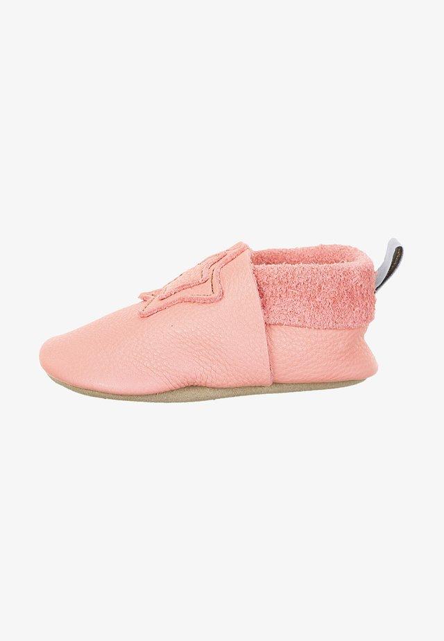 LEDER-KRABBELSCHUH - First shoes - rosa