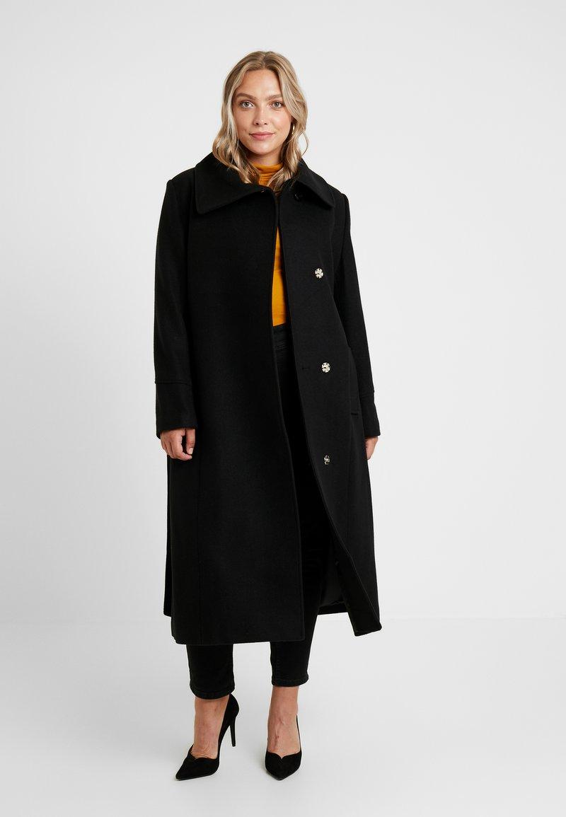 Anna Field Curvy - Classic coat - black