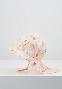 Maximo - MINI GIRL FLAPPER - Hat - zart rosa melange/gelb - 4