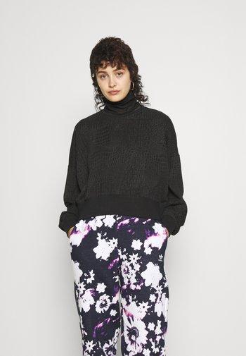 SWEATER - Sweatshirt - black/carbon