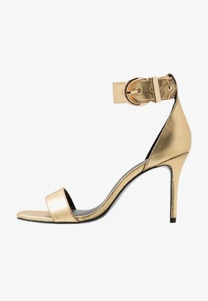 High heeled sandals - oro