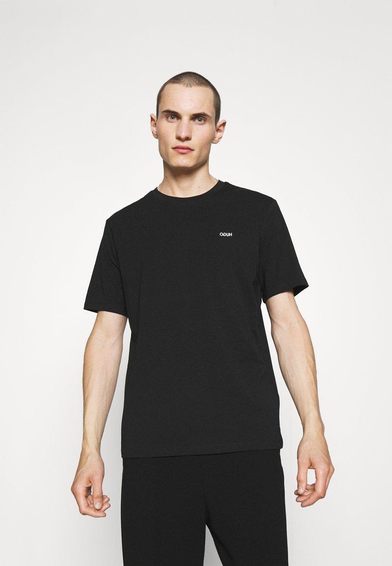 HUGO - DERO - T-shirt - bas - black