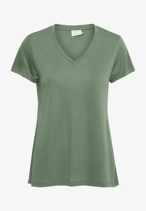 ANNA  - Basic T-shirt - hedge green