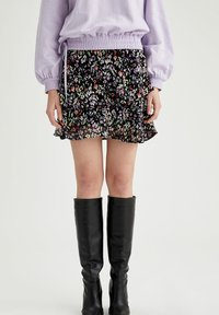 DeFacto - Mini skirt - purple - 0
