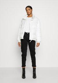 G-Star - ARC 3D LOW BOYFRIEND - Jeans Tapered Fit - nero black/denim jet black - 1