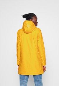 ONLY Tall - ONLSALLY RAINCOAT - Parka - golden yellow - 2