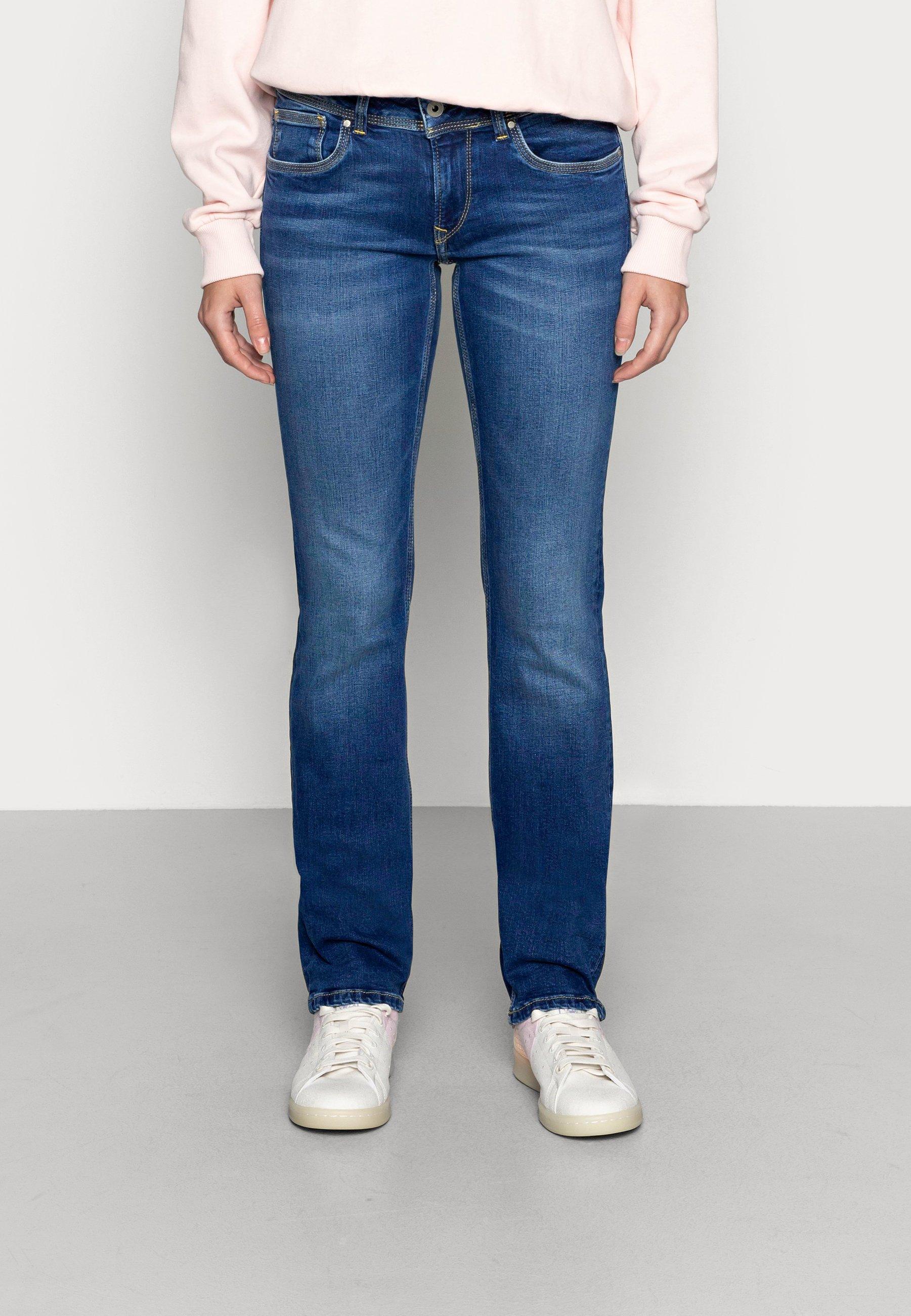 Damer HOLLY - Jeans Straight Leg