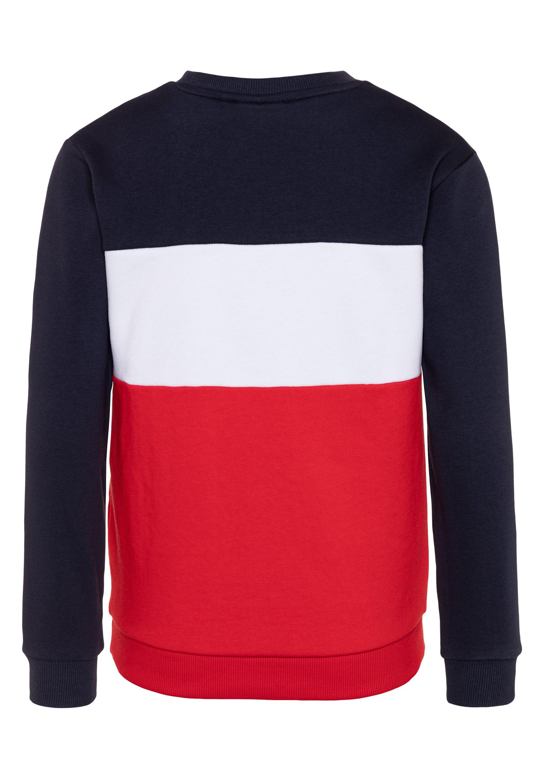 Fila TULIA Sweatshirt black iristrue redbright white