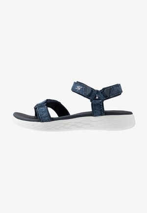 ON-THE-GO 600 RADIANT - Walking sandals - navy/white