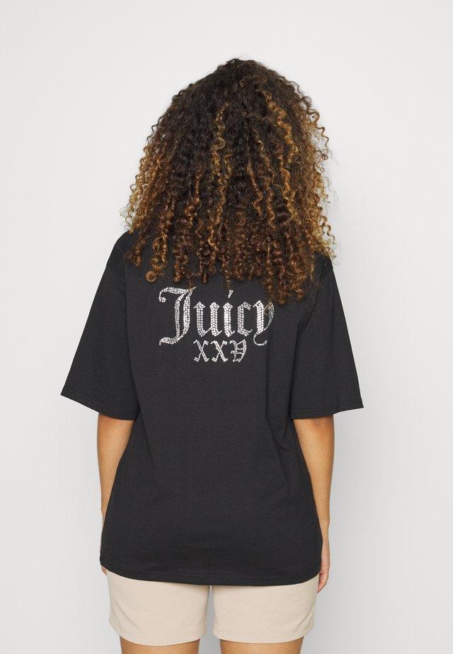 NUMERAL - T-shirt print - black