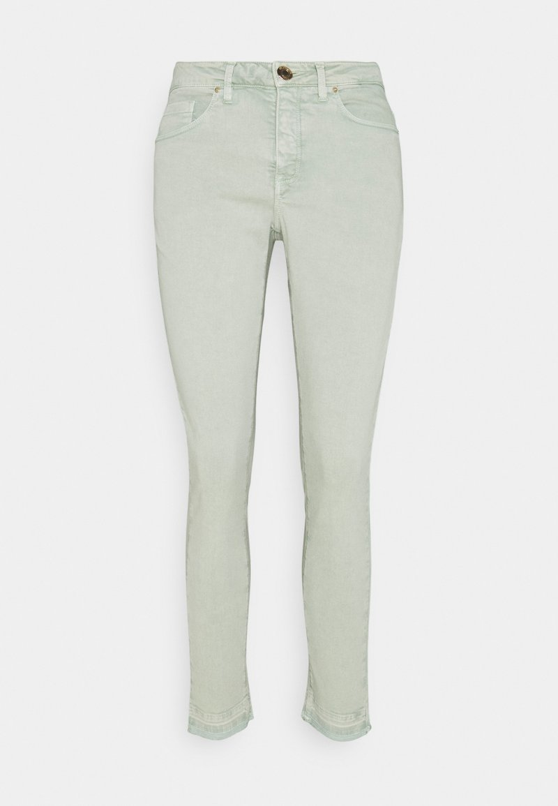 Opus - ELMA COLORED - Jeans Skinny Fit - pistachio