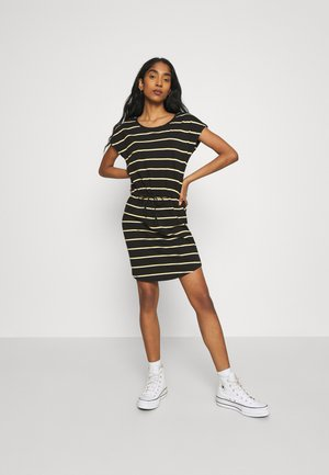 ONLMAY DRESS 2PACK  - Jersey dress - black/double yolk