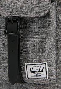 Herschel - DAWSON - Plecak - raven crosshatch/black - 4