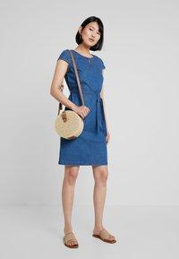 Betty & Co - KURZ - Denim dress - blue denim - 1