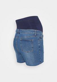 MAIAMAE - Denim shorts - mid wash - 1