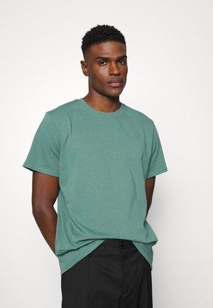 ARKK BOX LOGO TEE - Basic T-shirt - silver pine
