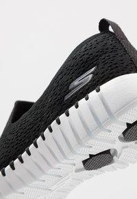 Skechers Performance - GO WALK SMART - Sportieve wandelschoenen - black/white - 5