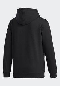 adidas Originals - RUN DMC HOODY - Hoodie - black/white/scarle - 10