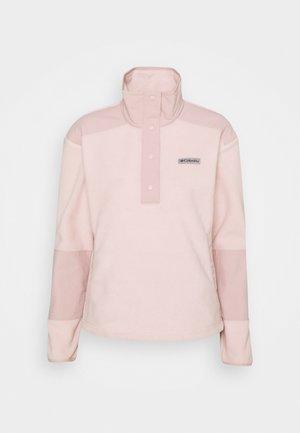 BENTON SPRINGS™ CROP - Fleece jumper - mineral pink
