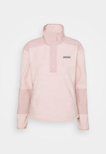 BENTON SPRINGS™ CROP - Felpa in pile - mineral pink