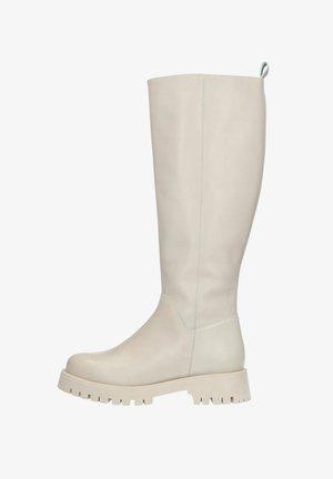 Platform boots - offwhite