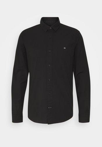 SLIM FIT - Formální košile - black
