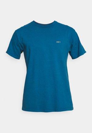 RADIANT LOTUS - Print T-shirt - blue sapphire