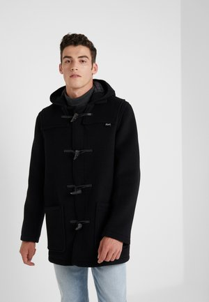 MID LENGTH DUFFLE - Short coat - black