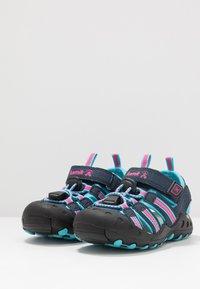 Kamik - CRAB - Walking sandals - navy teal/marine bleu sarcelle - 2