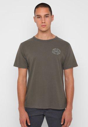 GAS TEE - T-shirt z nadrukiem - khaki