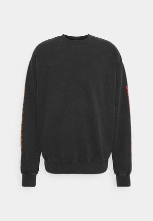 HARCID WASH CREW FLEECE - Sweatshirt - black