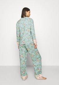 Marks & Spencer London - FLORAL  - Pyjamas - aqua mix - 2